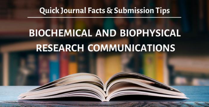 ジャーナルを知ろう!『Biochemical and Biophysical Research Communications (BBRC)』