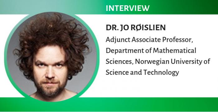 ジョー・ロイスリエン氏:「生物統計学者には最高の時!」