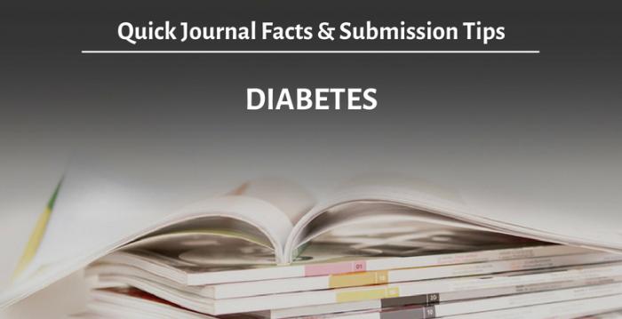 """学術誌""""Diabetes"""":概要と投稿時のアドバイス"""