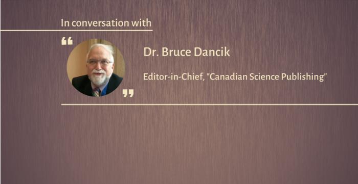 ブルース・ダンシック氏(NRCリサーチプレスの編集長)「剽窃についてのグローバルな視点」