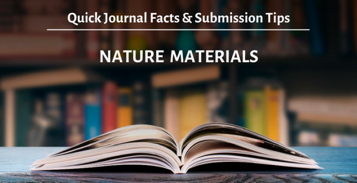 学術誌「ネイチャーマテリアルズ」(Nature Materials)の概要と投稿時のアドバイス