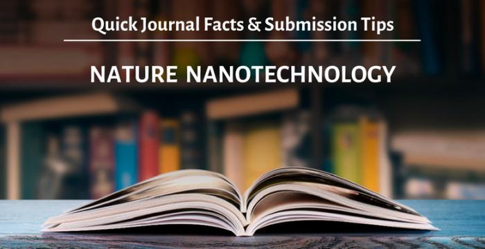 """学術誌""""Nature Nanotechnology"""":概要と投稿時のアドバイス"""