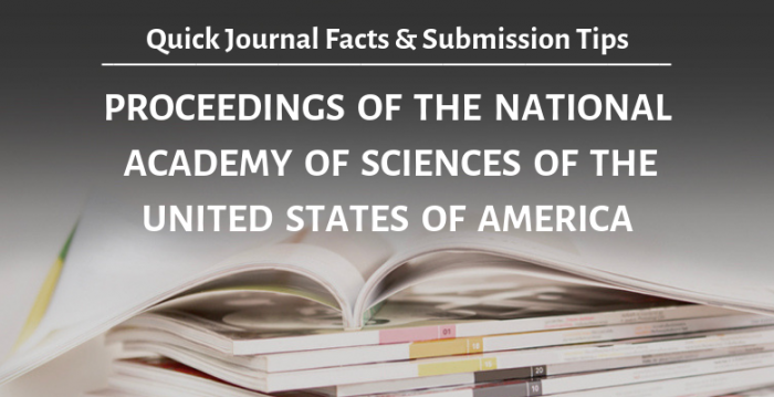 学術誌『米国科学アカデミー紀要 (PNAS)』: 概要と投稿時のアドバイス