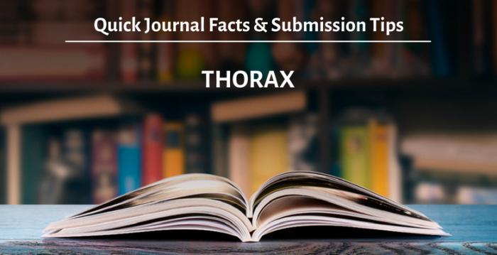 学術誌『Thorax』: 概要と投稿時のアドバイス