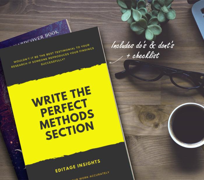 隙のない方法セクションの書き方 - 作業を正確に記述する